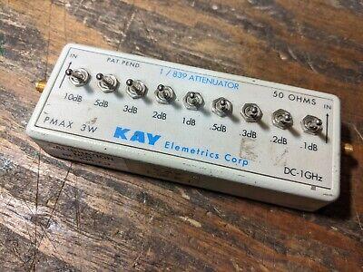 Kay 839 Attenuator Dc - 1ghz 50ohm