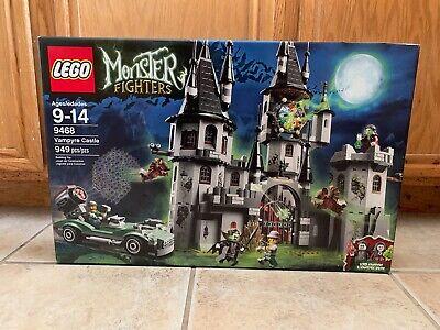 LEGO 9468 Vampyre Castle Monster Fighters NIB NEW Vampire Castle