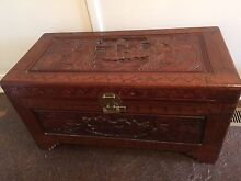 Carved camphor chest Sandringham Bayside Area Preview