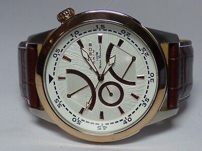 Men's Akribos XXIV Watch Chronograph Used 100M Rose & Stainless