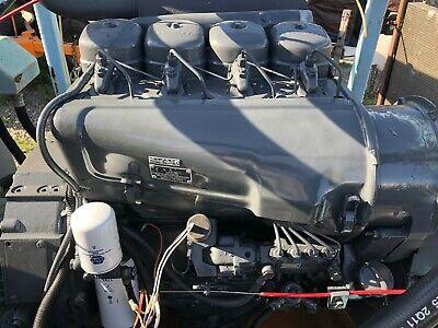 Deutz F4l912 Diesel Engine Air Cooled 4 Cylinder 66.5 Hp 2300 Rpm