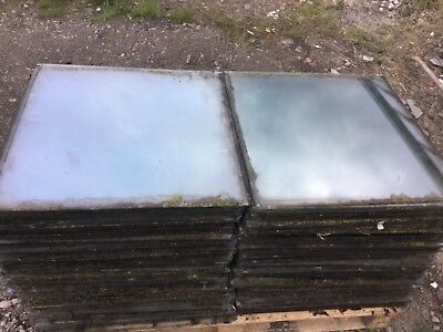 "COLLECTION ONLY 10 x Horticultural Greenhouse Glass - 24"" x 24"" 610mm x 610mm"