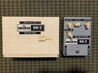 Pete Cornish SS-2 SS 2 Overdrive Sustain Distortion Guitar Effects Pedal NOS for sale  Mason