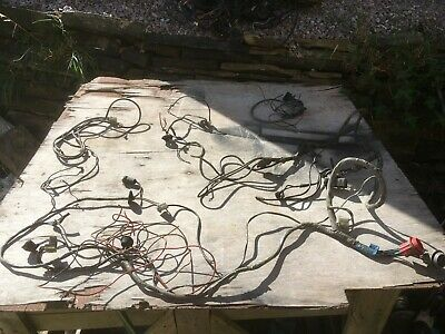 Ford Capri mk1 Facelift 1600 XL Pinto under bonnet wiring loom