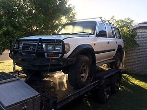 Wrecking fzj80 1996 Toyota Landcruiser 80 series Jimboomba Logan Area Preview