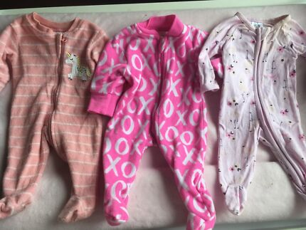 Baby girl premmie size clothing