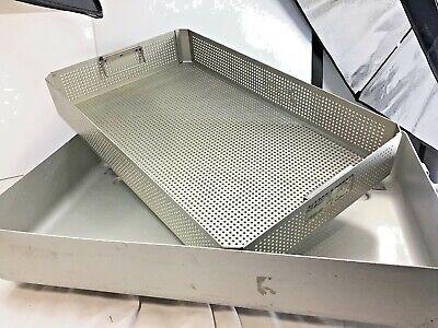 Steritite Medi Tray Long Wide - Case Medical - Aluminum Sterilization Tray