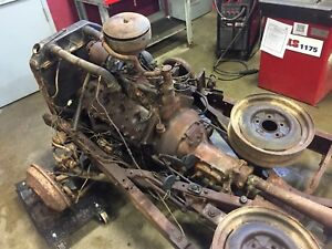 Complete drive train for 1940 Ford  V8 Flathead.