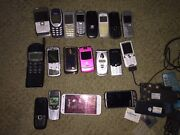 Nokia / Sony Ericsson / Motorola / OLD Mobile Phones / COLLECTABLE Curtin Woden Valley Preview