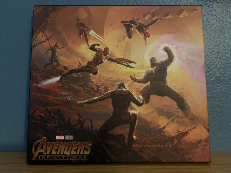 Marvel's Art Of Avengers Infinity War -Art Book