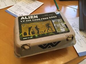 Alien movie LV-426 Cage-Free eggs