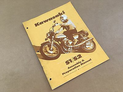 Genuine Kawasaki S1/S2 Assembly and Preparation Manual