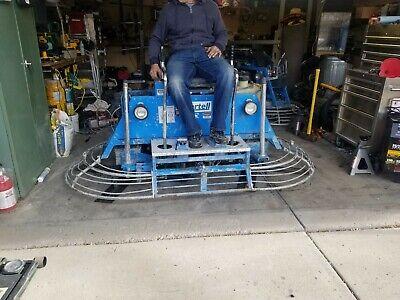 Bartell Concrete Rider Power Trowel