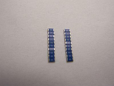 0 Zero  Ohms 20pcs.  Jumper Smdsmt 1206 Resistors Philips