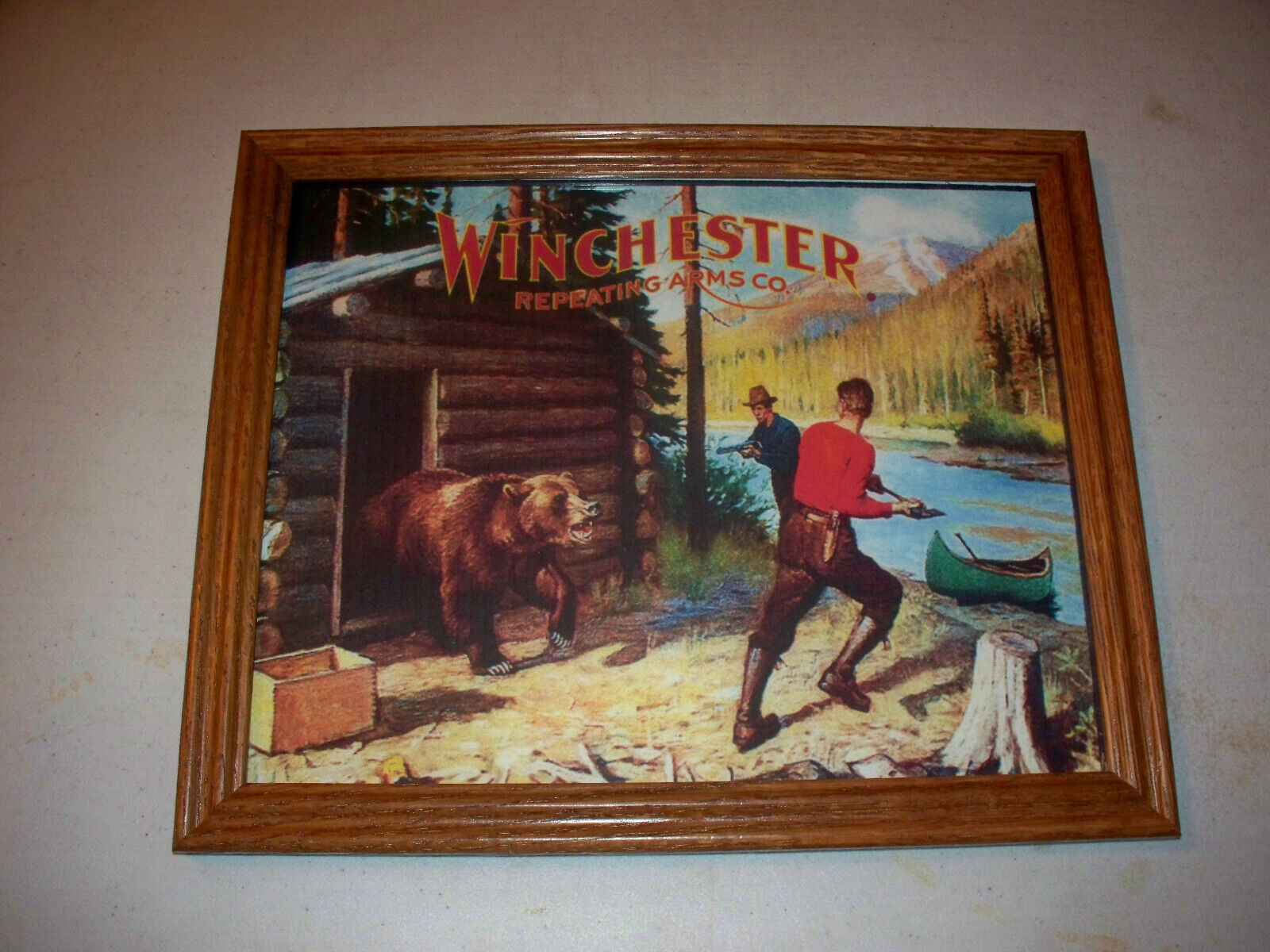 Winchester Repeating Arms Company Hunting Advertising Print 1 - $25.00