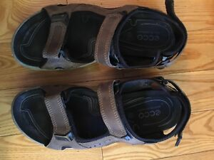 Ecco men's size 43 sandals