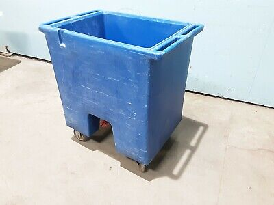 Cambro Ice Cart Ic175t Commercial H.d. Poly Cartcold Food Ice Carrier Cart