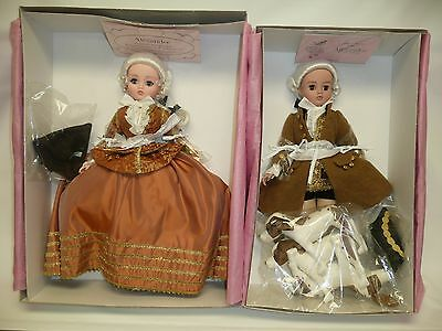 "21"" Madame Alexander Pomadour Fall Cissy & Louis XV w/3 Dogs, Mint NRFB #75/120"