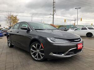 2016 Chrysler 200 C**PANORAMIC SUNROOF**REMOTE START**