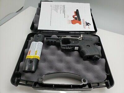 FIRESTORM JPX 2 PEPPER GUN WITH BLACK FRAME STANDARD WITH NYLON BELT HOLSTER