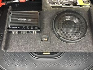 Rockford sub and amp