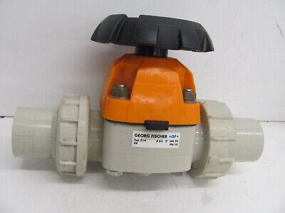 Georg Fischer Gf 314 D63 2 Dn50 Valve Polypro