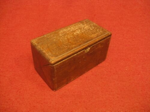 Antique Sewing Attachment Folding Oak Puzzle Box W/ Attachments  1899 Feb 19