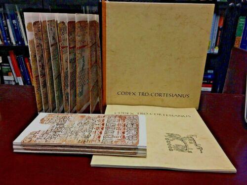 The Madrid Mayan Codex Tro-Cortesianus Facsimile 1967 Austria Manuscript Rare