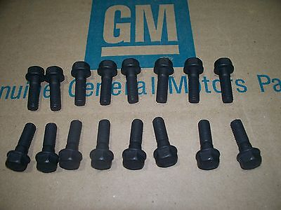 Big Block Exhaust Manifold Bolt -  big block exhaust manifold bolts 68-75 Chevy Chevelle Camaro Nova 396 454 69