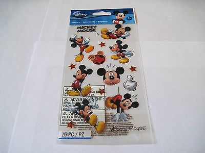 Mickey Scrapbooking Stickers - Scrapbooking Stickers Disney Mickey Mouse Different Poses Titles Stars Face More