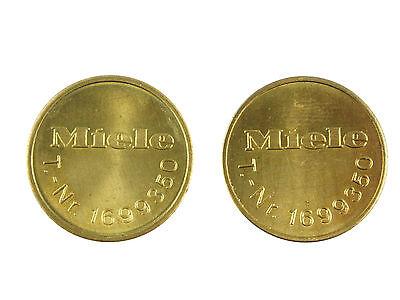 Miele Wertmarke Wertmarken T.-Nr. 1699350 original 20 Stück