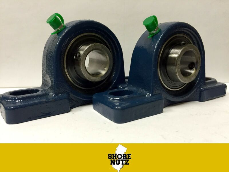 "(2 PIECES) 5/8"" Pillow Block Bearing, UCP202-10 Solid Base P202"