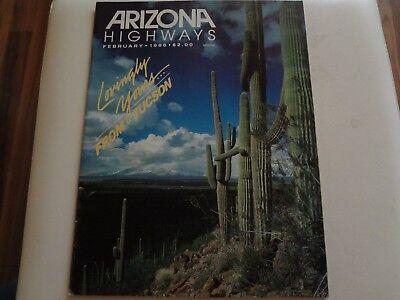 Arizona Highways, February 1986, Lovingly Yours from Tucson