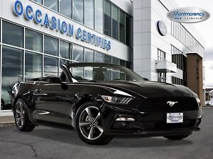 2017 Ford Mustang V6 Convertible *CUIR DISPONIBLE*