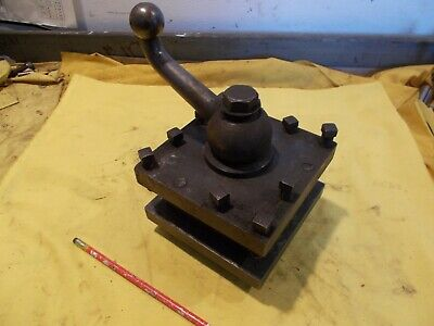 6 Enco Usa Lathe Tool Post Engine Metal Turning Holder Turret 4 Way Repaired