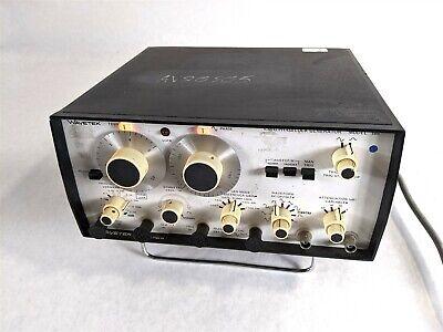 Wavetek 186 5 Mhz Frequency Generator Phase Lock Sweep Industrial Dc System