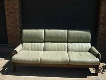 Leather lounge suite - 3 seater and 2 chairs Kingston Beach Kingborough Area Preview