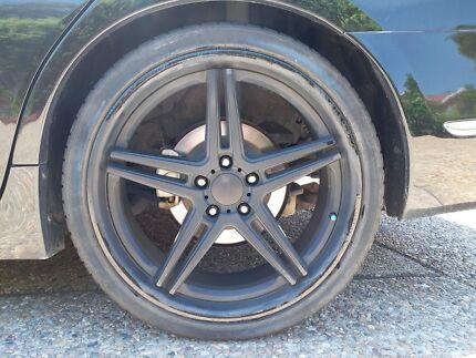 Wheels SSW 19 x 8.0 45 5/120 Crush BLK