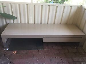Free tv stand with drawers and glass panel Quakers Hill Blacktown Area Preview