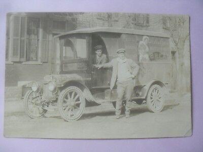 RPPC Schulze's Bread truck 1914