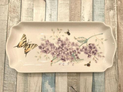 Lenox 885304 Butterfly Meadow Rectangular Tray