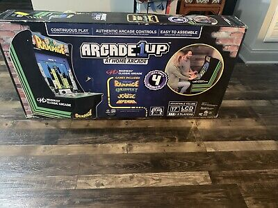 New Rampage Arcade Machine Arcade1UP 4ft Fast Shipping!