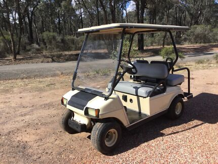 4 seat golf cart ideal for teaching kids to drive or for caravan
