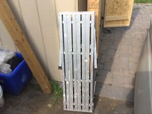 For sale Step ladder, ladder and trolley
