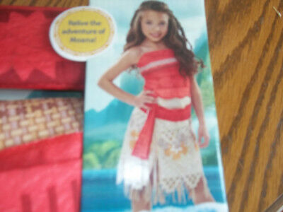 NEW Girls Costume Disney Moana Dress Up Adventure - Puppe Kostüm Dress Up