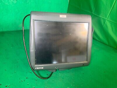 Micros Workstation 5 System Pos Touch Screen Windows 400825-001