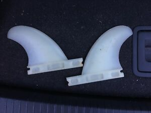 Surfboard fins (inside quad)