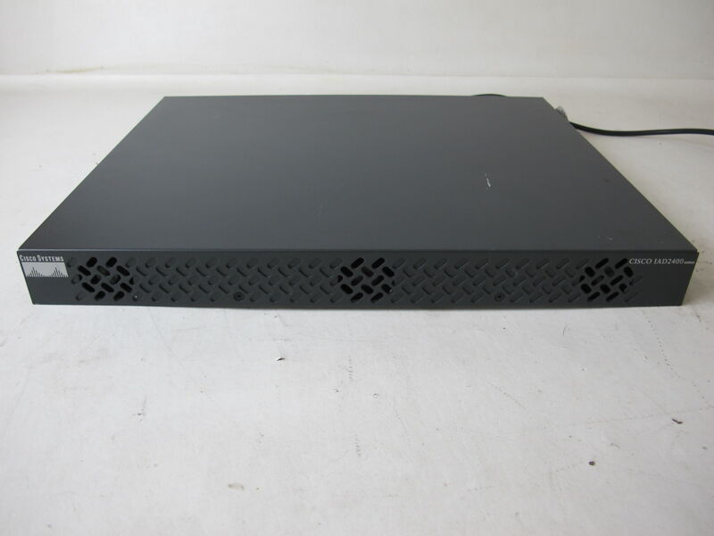 Cisco IAD2430-24FXS Access Device with Power cord