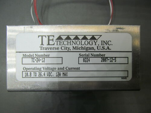 TE Technology TC-24-12 Thermoelectric Cooler Temperature Controller