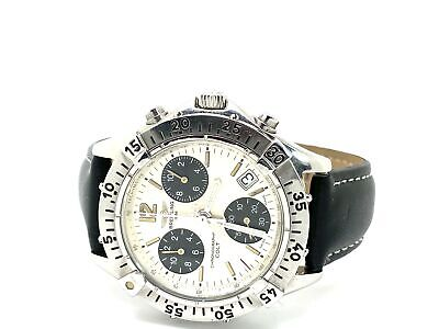 Breitling Colt Stainless A53035 Silver & Black Women's Watch (28704-1)